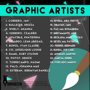 FIT Innovator Graphic artist
