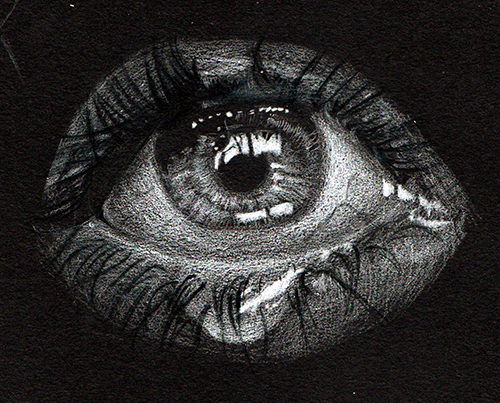 Eye drawing by NVT
